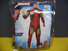 MARVEL IRON MAN MUSCLE CHEST MEN HALLOWEEN COSTUME XL
