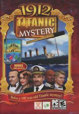 1912 TITANIC MYSTERY - Hidden Object PC Game + FREE BONUS Neptunia Puzzle - NEW!
