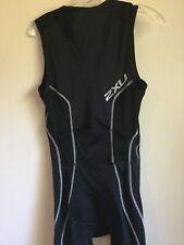 2XU Triathlon Skinsuit TriSuit speed suit SZ L Cycling Bib Compression Singlet