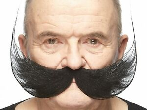High quality Fisherman's false, self adhesive mustache