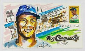 Roy Campanella A Tribute Wild Horse Cachets FDC 8/2/82 #24/90