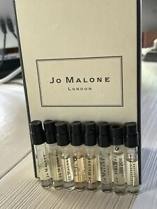 Jo Malone Perfume Sample Set Lot Of 8- 1.5 ml Each