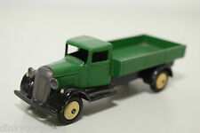 DINKY TOYS 25A 25 A OPEN WAGON TRUCK GREEN BLACK NEAR MINT CONDITION