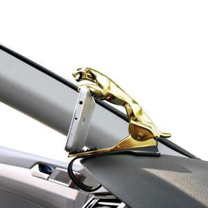 Car Jaguar Form Dashboard Phone Holder 360 Degree Cell Mount Stand Bracket New