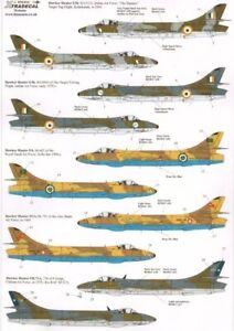 Xtradecal 1/72 International Hawker Hunters # 72214