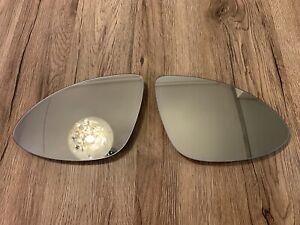 Porsche Cayenne OEM LH RH mirror glass SET heating dimming 10-14 year