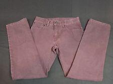 Levi's 511 Girls' Skinny Leg Corduroy Pants, Maroon, Size 16 Regular Fit 28x28