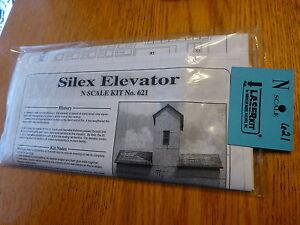 American Model Builders, Inc #621 Silex Elevator (LaserKit) N Scale