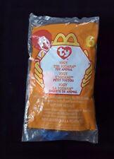 Ty Teenie Beanie Babies IGGY THE IGUANA #6 McDonalds Toy Retired 1999 NEW SEALED