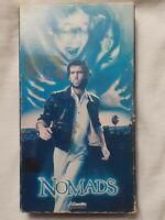NOMADS (VHS 1986)RARE (OOP)OutOfPrint PIERCE BROSNAN GHOST CULT HORROR HTF NOUPC