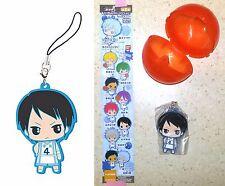 Kuroko's Basketball Capsule Rubber Mascot EX Shuzo Nijimura Bandai Licensed New