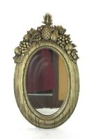 Rare Vintage Mid Century Fruit Pineapple Frame Wall Mirror Syroco Dart Homco