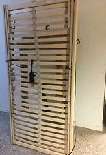 DEWERT elektrischer Pflegebett Einlegerahmen Lattenrost Seniorenbett 90x190cm