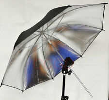 Flash Light Stand Mount Bracket + Silver Umbrella kit