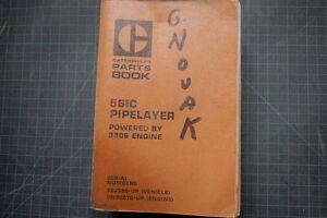 CAT Caterpillar 561C Pipelayer Parts Manual Book Catalog spare index list 92J