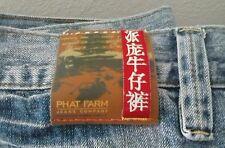 """Vtg MEN'S PHAT FARM Asian """"The Pursuit of Good Fortune"""" JEANS Size 42x33"""