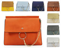 Ladies Ring Chain Detail Women Clutches Large Sized Evening Fancy Shoulder Bag
