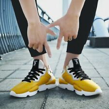 Men's Sneakers Athletic Sports Lace Up Round Toe Flats Running Casual Shoes 2019