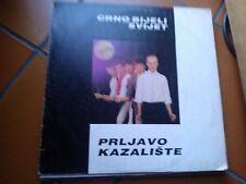 """LP 12""""  PRLJAVO KAZALISTE CRNO BIJELI SVIJET  YUGOSLAV CROATIAN PUNK EX"""