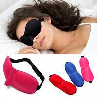 2017 Newest 3D Soft Padded Travel Eye Sleep Mask Shade Cover Sleeping Blindfold