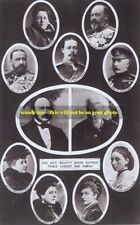 mm120- Queen Victoria & Prince Albert & adult children montage-Royalty photo 6x4