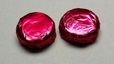 Chocolate covered Oreo Cookies Burgundy   Foil 100 pcs made to Order WEDDING