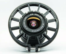 Follow focus gear ring 0.8 mods for Canon Nikon Zeiss DSLR lens 60-70mm black