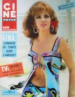 Ciné revue n° 43/1967 Gina Lollobrigida - Mireille Darc - F. Sinatra & M. Farrow
