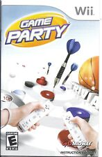Wii Game Party Instruction booklet