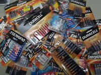 50 AAA BATTERIES Mixed ENERGIZER & National Brands Exp 2025-27 Damaged Packaging