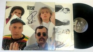 One On One by Cheap Trick Lp Signed Autographed  Robin Zander