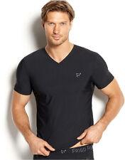 FRIGO Revolution Wear Mens Underwear Frigo No. 1 V-Neck Microfiber T-Shirt S NIB