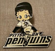 Pittsburgh Penguins Betty Boop Lapel Pin