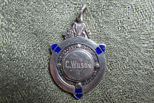 Irish Silver Sports médaille/Fob -- 1936 -- IRISH/IRLANDE -- C. Wilson