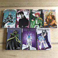 Demon Diary Manga Volumes 1-7 COMPLETE SERIES TOKYOPOP Paperback Hyong Kara