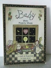 Baby Photo Memory Album Gift of Memories Journal Keepsake Vintage Spivey Display