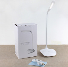 Rechargeable LED Desk Lamp Table Read Book Light Dimmable 3-Level gift white L04