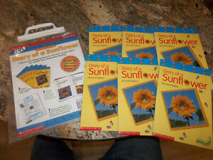 Super-Science Readers: Diary of A Sunflower: Scholastic Guided Reading Set Level