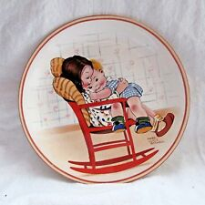 DAVENPORT POTTERY A BIT OF LOVE MABEL LUCIE ATTWELL COLLECTOR'S PLATE 1988