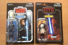 STAR WARS Anakin Skywalker Kenobi Lot VC Vintage Collection Foil Unpunched 16 92