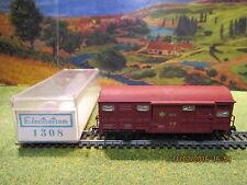 Wagon couvert Electrotren N° 1308 HO pour locomotive Fleischmann ou Marklin