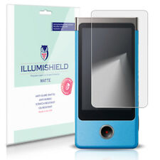 iLLumiShield Matte Screen Protector w Anti-Glare/Print 3x for Sony Bloggie Touch