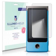 iLLumiShield Matte Screen Protector w Anti-Glare/Print 3x for Sony Bloggie Touch