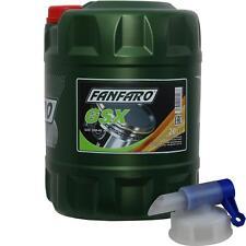 20 Liter FANFARO Motoröl GSX 15W-40 API SG/CD Engine Oil Öl inkl. Auslaufhahn