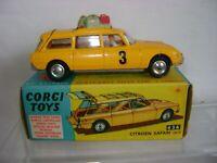 Corgi no.436 Citreon Safari car  mint condition as is the box circa 1963 vintage