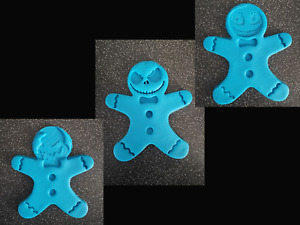 3D Printed NBC Gingerbread man Cookie Cutters