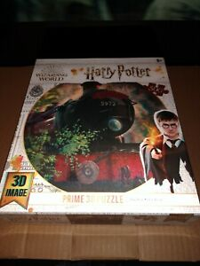 Harry Potter Hogwarts Express Super 3D Jigsaw Puzzle 500 Piece 24X18 In.FREESHIP