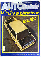 AUTO HEBDO 281 du 27/08/1981; Essai VW Bimoteur/ Interview Eliseo Salazar