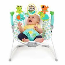 Relax Transat bébé Spinnin' Safari avec Vibration et Arche de Jeux Multicolore