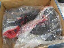 Roces 450518 Kids Model Mck Ii H Ice Skate, Us 13J-3 Black/Red